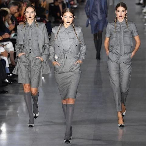Max Mara shows clothes inspired by Phoebe Waller-Bridge at Milan Fashion Week
