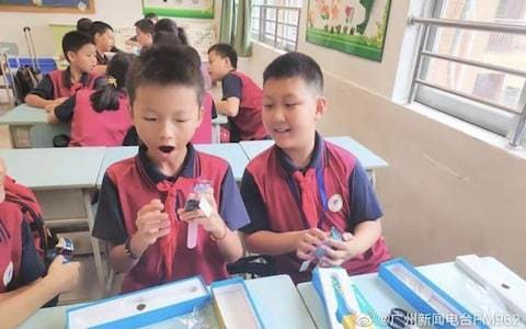 China issues 17,000 smart watches to pupils to track movements