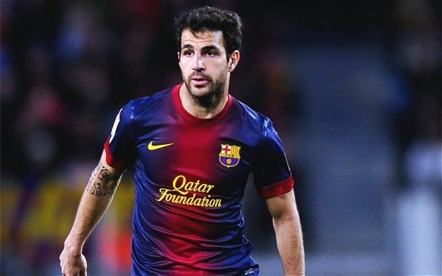 Cesc Fabregas subject of €30m bid from Manchester United as David Moyes targets Barcelona midfielder