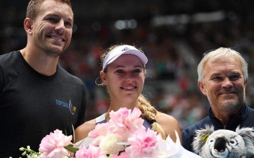 Emotional Caroline Wozniacki happy with 'perfect' farewell at Australian Open