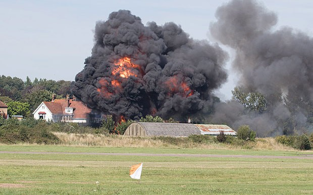'Key evidence missing' from police investigation into Shoreham Airshow, inquest reveals