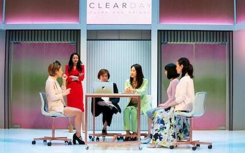 White Pearl, Royal Court Downstairs, review: skin-whitening drama with a troublingly light tone