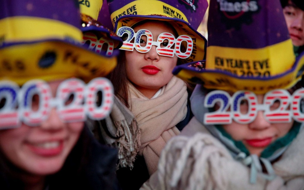 New Year's Eve celebrations in London and around the world - in pictures