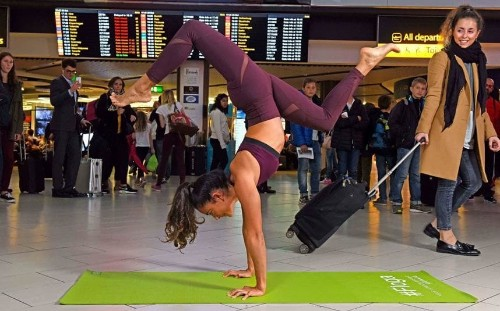 Is 'floga' the answer for nervous fliers?