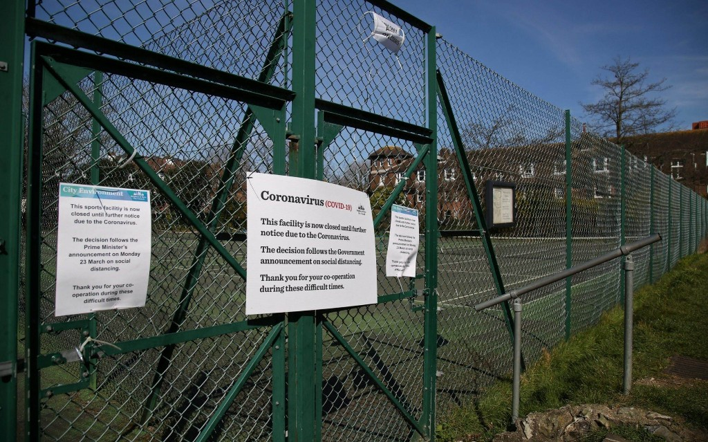 When will tennis courts reopen, and is it safe to play in lockdown?