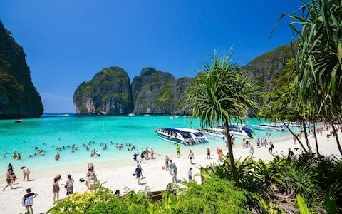 Thai bay made famous in 'The Beach' shuts indefinitely as Philippines places visitor cap on 'cesspool' Boracay