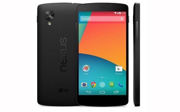 Nexus 5 images leaked on Google Play