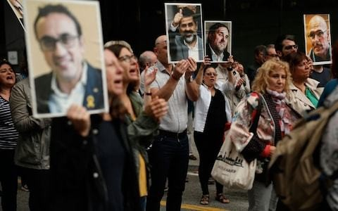 Spain braces for protests after Catalan leaders jailed for up to 13 years over independence bid