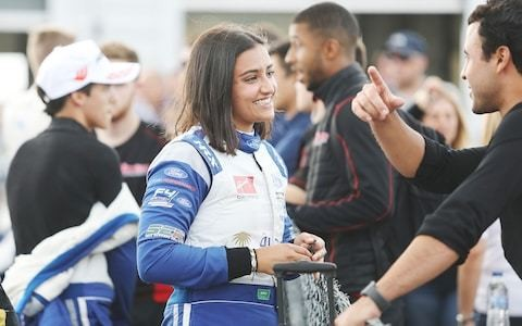 'My goal is to race at the top levels of motorsport': Reema Juffali, Saudi Arabia's first female professional racing driver, is creating a real stir