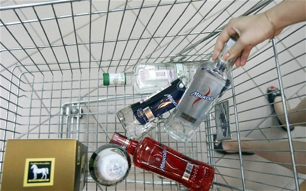 Shoplifting in Russia is soaring as the economy crumbles