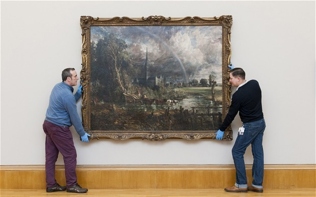 Painting bought for £30 from box revealed as £250,000 Constable original