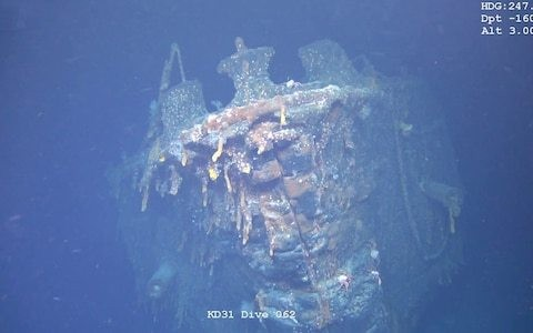 Wreck of First World War German flagship found off the Falkland Islands