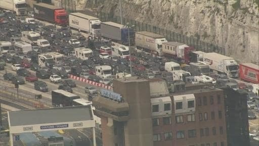 French facing accusations of triggering Dover chaos in 'revenge' for Brexit