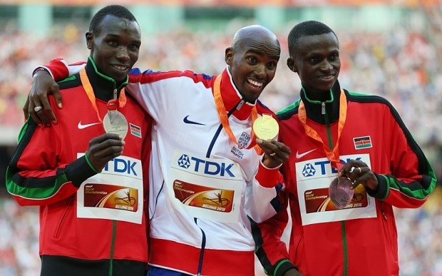 Mo Farah on brink of greatness but insists he is not 'the greatest'