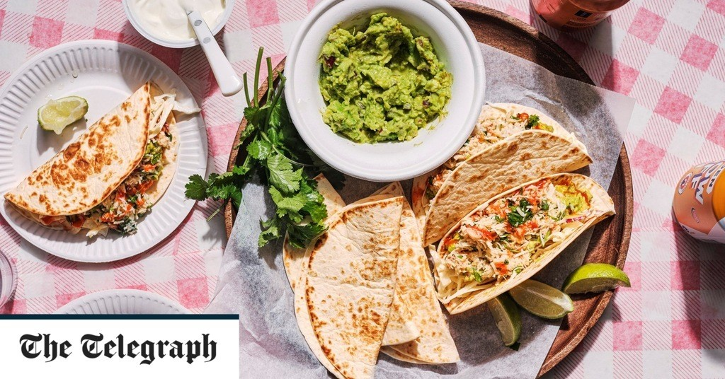 Easy crab tacos with guacamole recipe