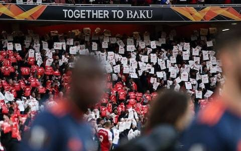 Uefa's risible decision to give Baku the Europa League final has betrayed the fans it gets paid so well to love