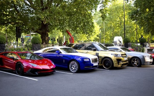 Supercar season: Middle Eastern millionaires and their gas guzzlers hit London