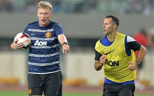 Manchester United manager David Moyes faces no-win Community Shield clash