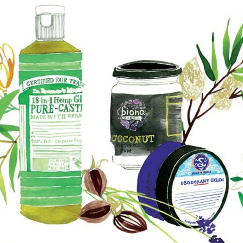 The green guide to chemical-free beauty