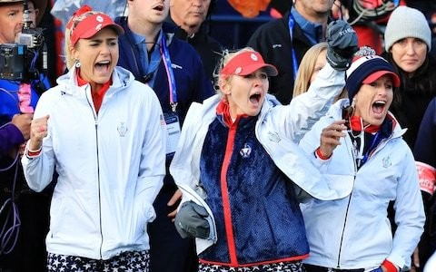 Solheim Cup neck and neck after brutal second day as Team Europe head towards tense singles finale