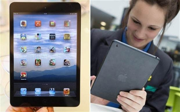 Pupils given free iPad minis