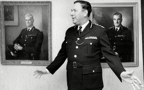Sir David McNee, Glasgow-born commissioner of the Metropolitan Police, whose period in office was marked by turbulence including strikes, the Brixton riots and the Iranian embassy siege – obituary