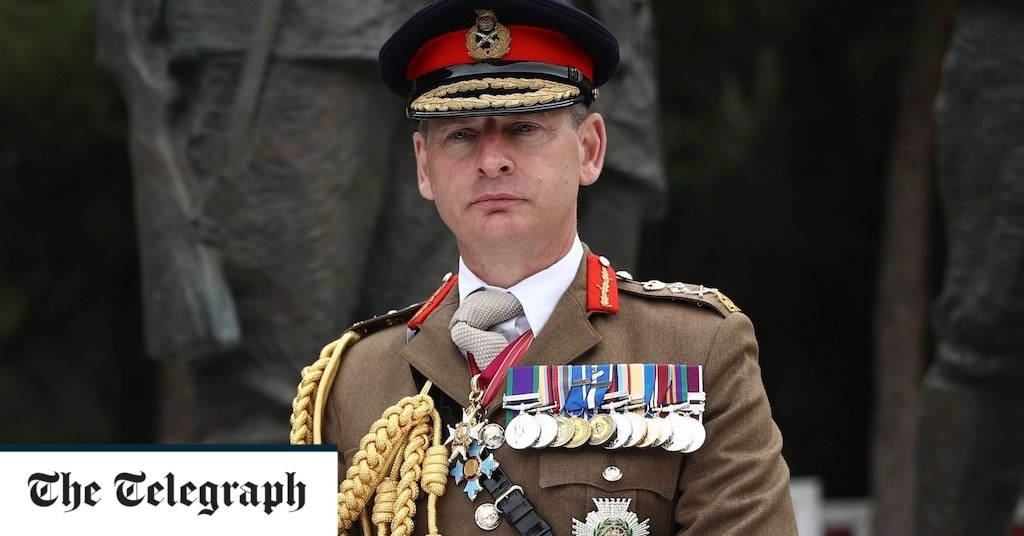 Army to prioritise expansion of bases in Asia, Chief of the General Staff has said, ahead of government's Integrated Review