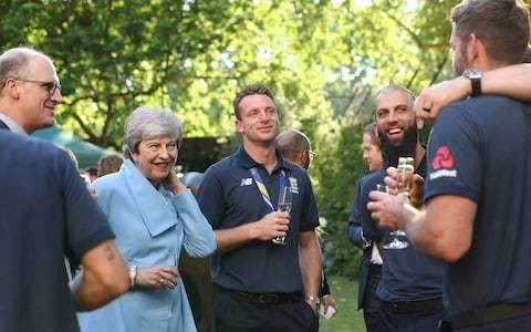 Eoin Morgan told his England side to 'calm it' at No 10 drinks with PM to avoid repeat of 2005