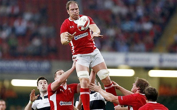 British and Irish Lions 2013: I don't want to let this chance pass me by, says Wales lock Alun Wyn Jones