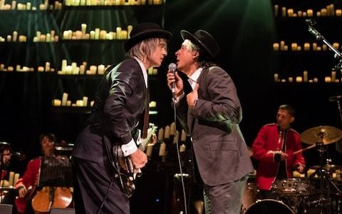 Pete Doherty and Carl Barât review, Hackney Empire: there's life in the Libertines yet