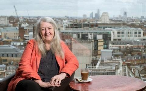 Mary Beard: 'I did not put a trigger warning on my lectures'