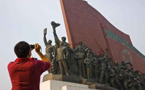 Chinese tourists accused over behaviour in North Korea