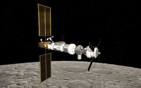 Nasa and European Space Agency announce location for lunar space station