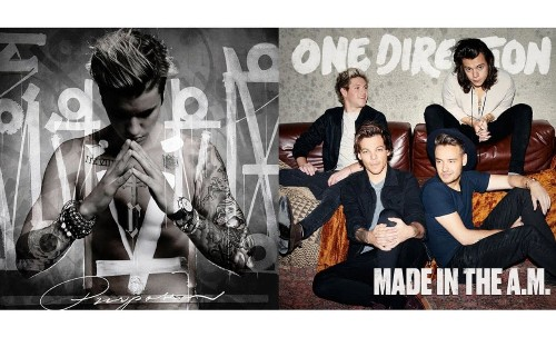 Justin Bieber and One Direction's new albums: 'biting the hand that feeds them'