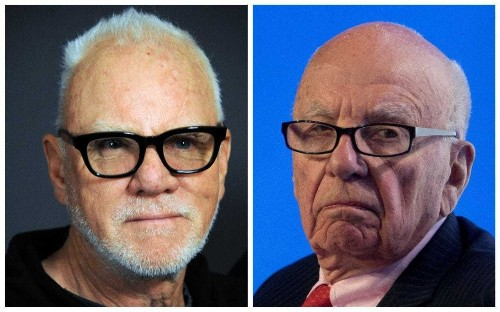 Malcolm McDowell to play Rupert Murdoch in film about Fox News