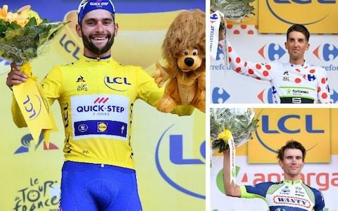 Tour de France 2018 – stage one results and standings after Fernando Gaviria coasts into yellow on dream debut and Chris Froome loses time to rivals
