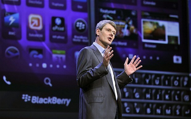BlackBerry 'considers putting itself up for sale'