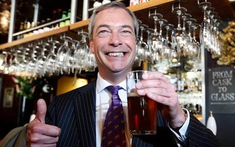 Who is Nigel Farage? The now man or the never man?