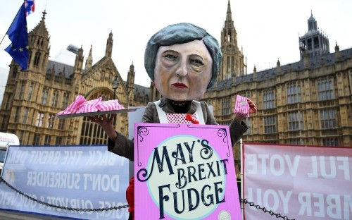 More fudge Prime Minister? Theresa May seeks 'binding' assurances from EU - but the backstop will remain
