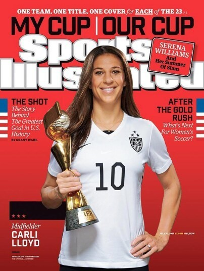 Sports Illustrated celebrates US Women's World Cup win with 25 covers - Telegraph