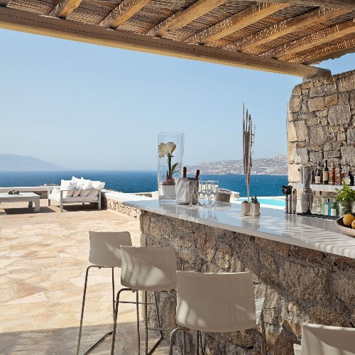 Luxury villas in Greece