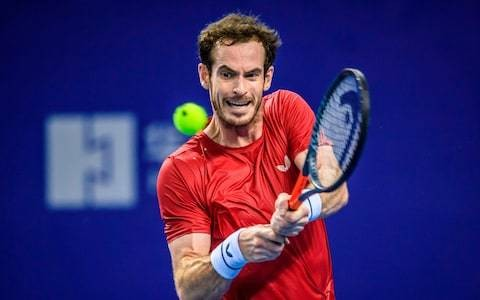 Andy Murray wins first ATP Tour singles match since hip resurfacing operation