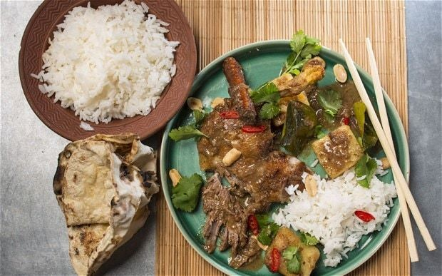 Duck and potato massaman curry recipe