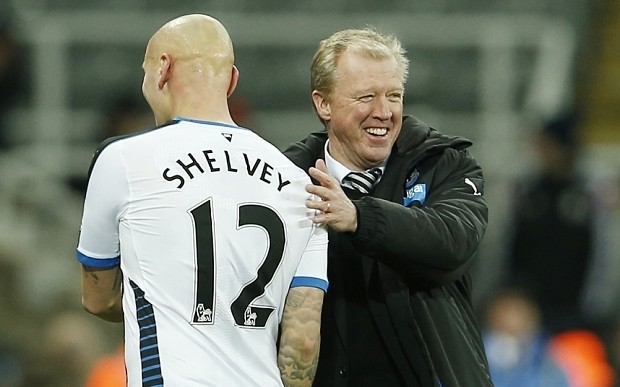 Steve McClaren has no place left to hide at Newcastle