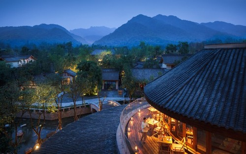 Six Senses Qing Cheng Mountain, Chengdu, China: in pictures