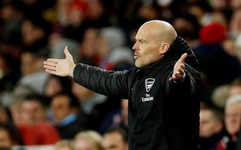 Freddie Ljungberg tells Arsenal board to make a decision over head coach role