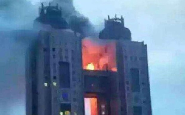 Blaze breaks out at Pyongyang tourist hotel