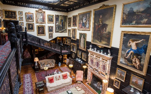 From Mrs Rochester's attic to the real Brideshead: visit the houses that inspired Britain's great works of literature
