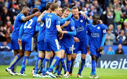 Leicester City 4 Swansea 0: Who needs Jamie Vardy? Ulloa, Mahrez and Albrighton put Foxes eight points clear of Tottenham