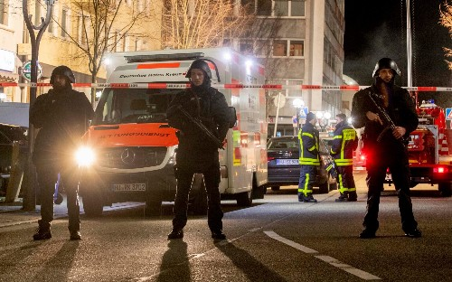 Hanau shooting: Suspect found dead after eight killed at shisha bars in Germany